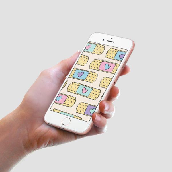 download gratuito wallpaper bandaid isabela mascarenhas 1
